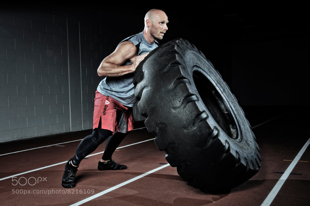 Photograph Nick of the Functional Strength Crossfit team.  by XAVIER WALLACH on 500px