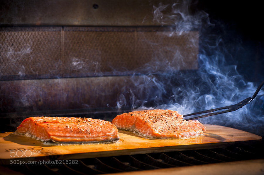 Cedar Plank Salmon by Jay Scott (jayscottphotography) on 500px.com