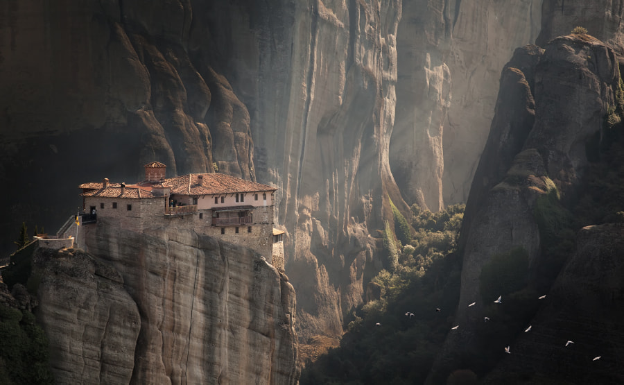 Meteora by Olga Sh on 500px.com