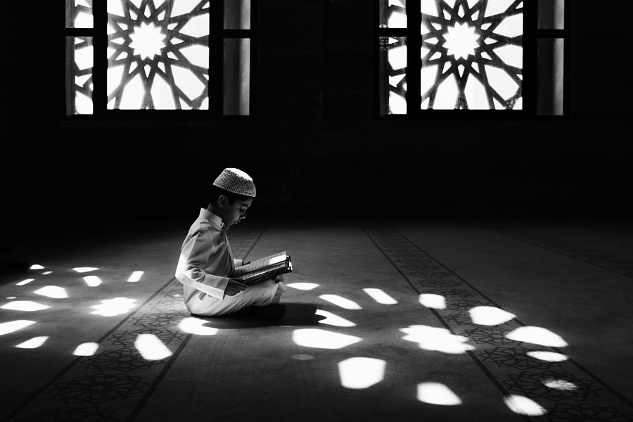 Photograph young reader by s.mohd almosawi on 500px