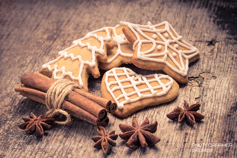Photograph Christmas gingerbread cookies by Sergey Kumer on 500px