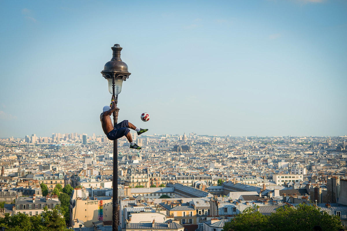 Photograph Paris from above by Nicolas Maillot on 500px