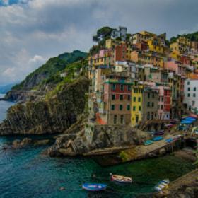 Cinque Terre - Riomaggiore by Viktor Lakics (Vlakics) on 500px.com