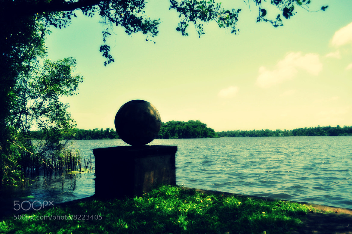 Photograph The Ball sculpture by the reservoir by Nur Hidayah on 500px