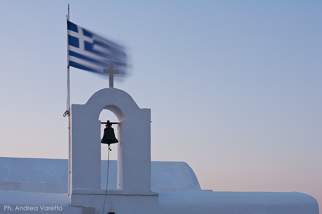 Photograph Paros, white and blue by Andrea Varetto on 500px