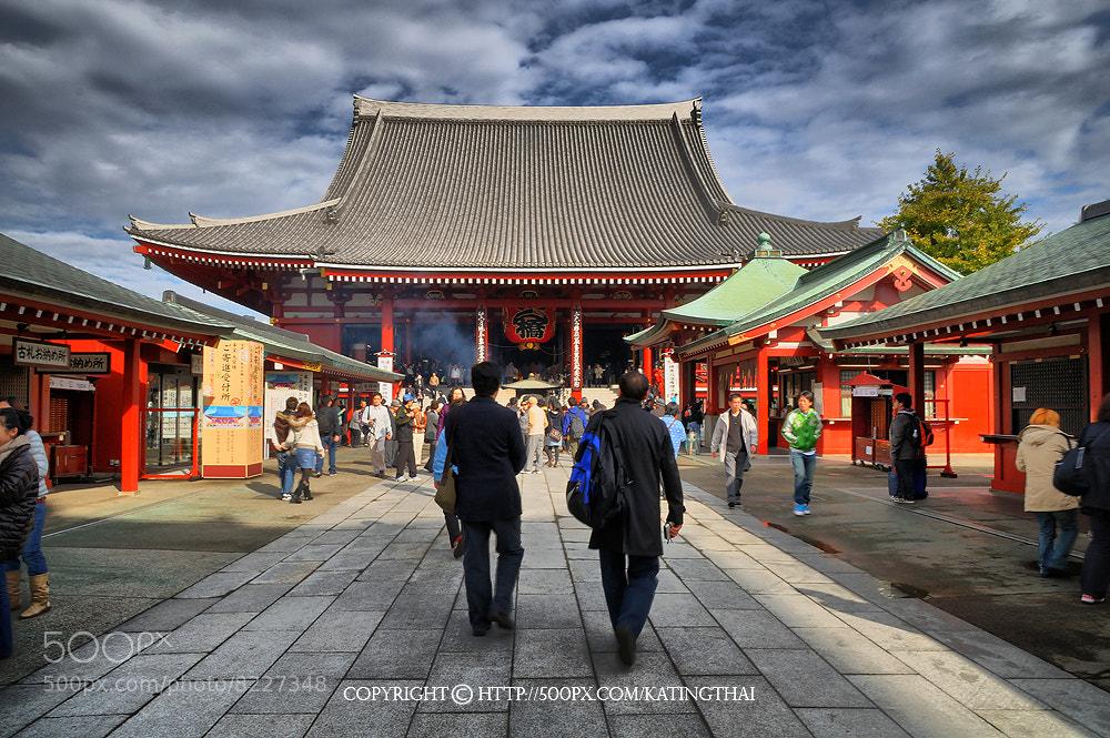 Photograph  Asakusa : JAPAN by Jumrus Leartcharoenyong on 500px