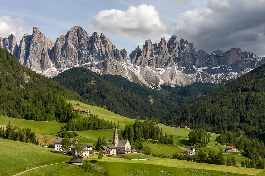 Santa Maddalena and Church by Hans Kruse on 500px.com