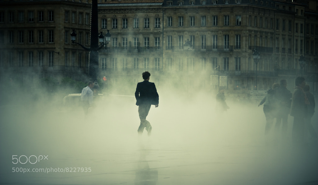 Photograph Running man on water mirror by Xavier de Bordeaux on 500px