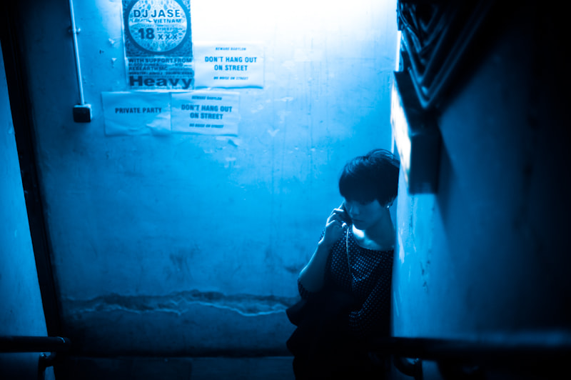 Photograph Blue by Tommy Ga-Ken Wan on 500px