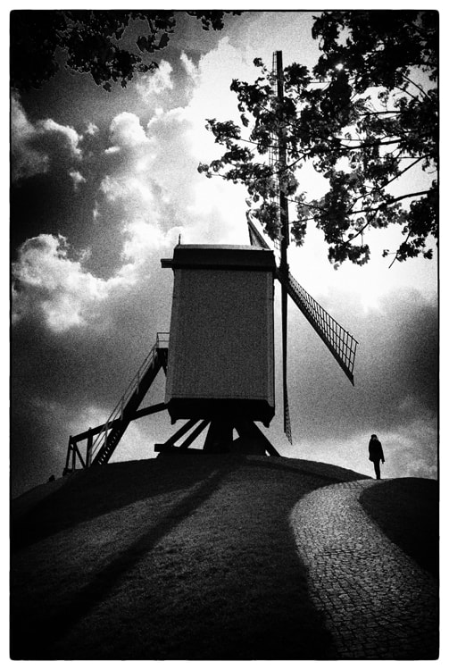 Photograph A mill at Brugge by Dmitry Dudenkov on 500px