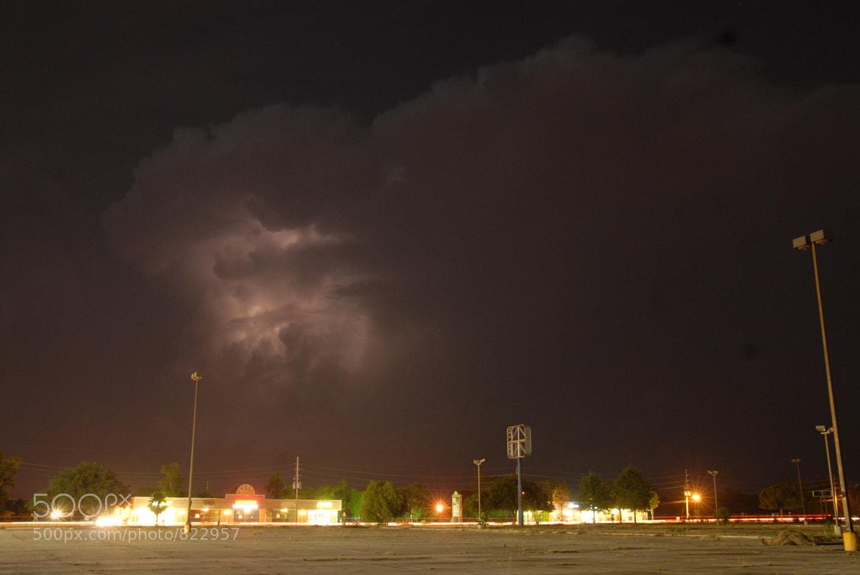 Photograph Red Lightning by Lynn Magnuson on 500px