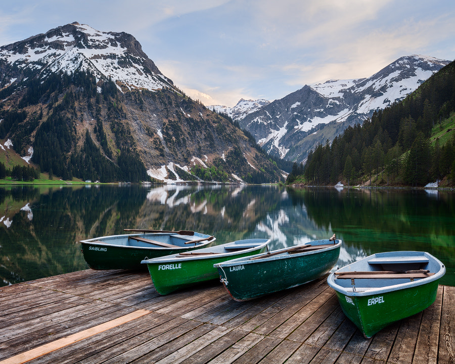 Photograph Vilsalpsee by Michael  Breitung on 500px