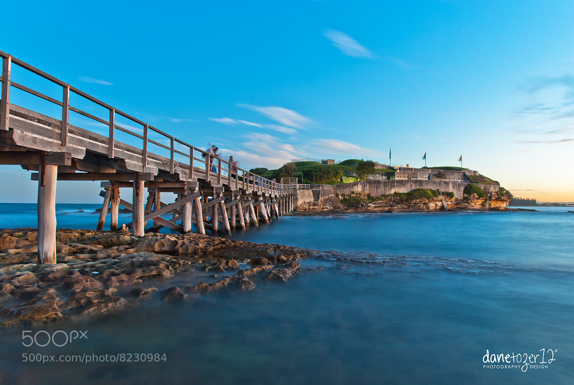Photograph Bare Island Wharf by Dane Tozer on 500px
