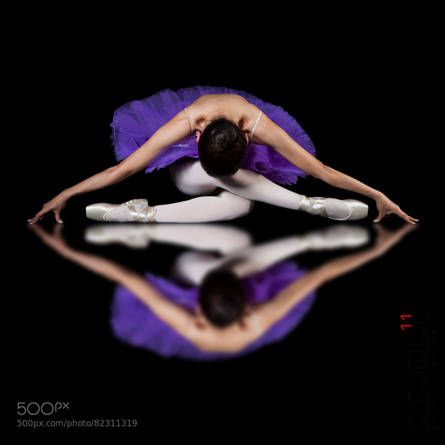 Photograph Ballet Reflection by Gan-Ulzii Gonchig on 500px