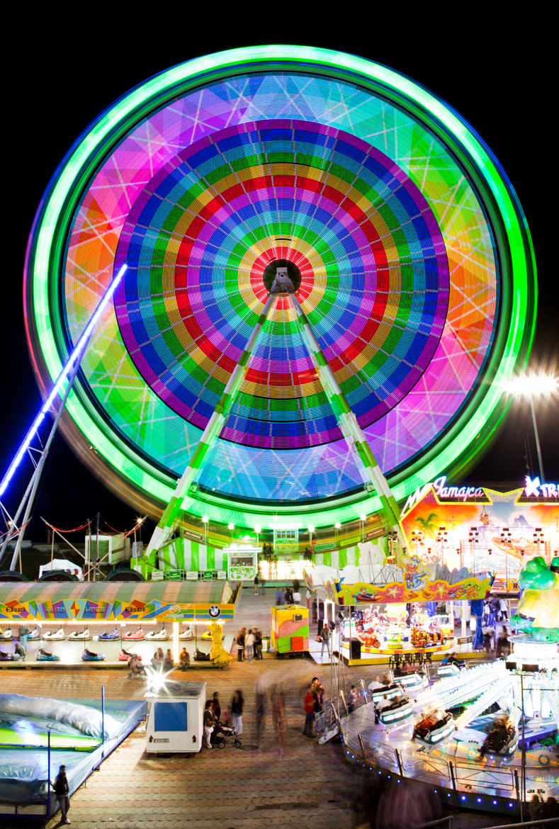 Photograph Funfair Lights by Roger Orpinell on 500px