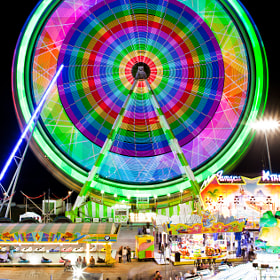 Funfair Lights by Roger Orpinell (rogerorpinell) on 500px.com