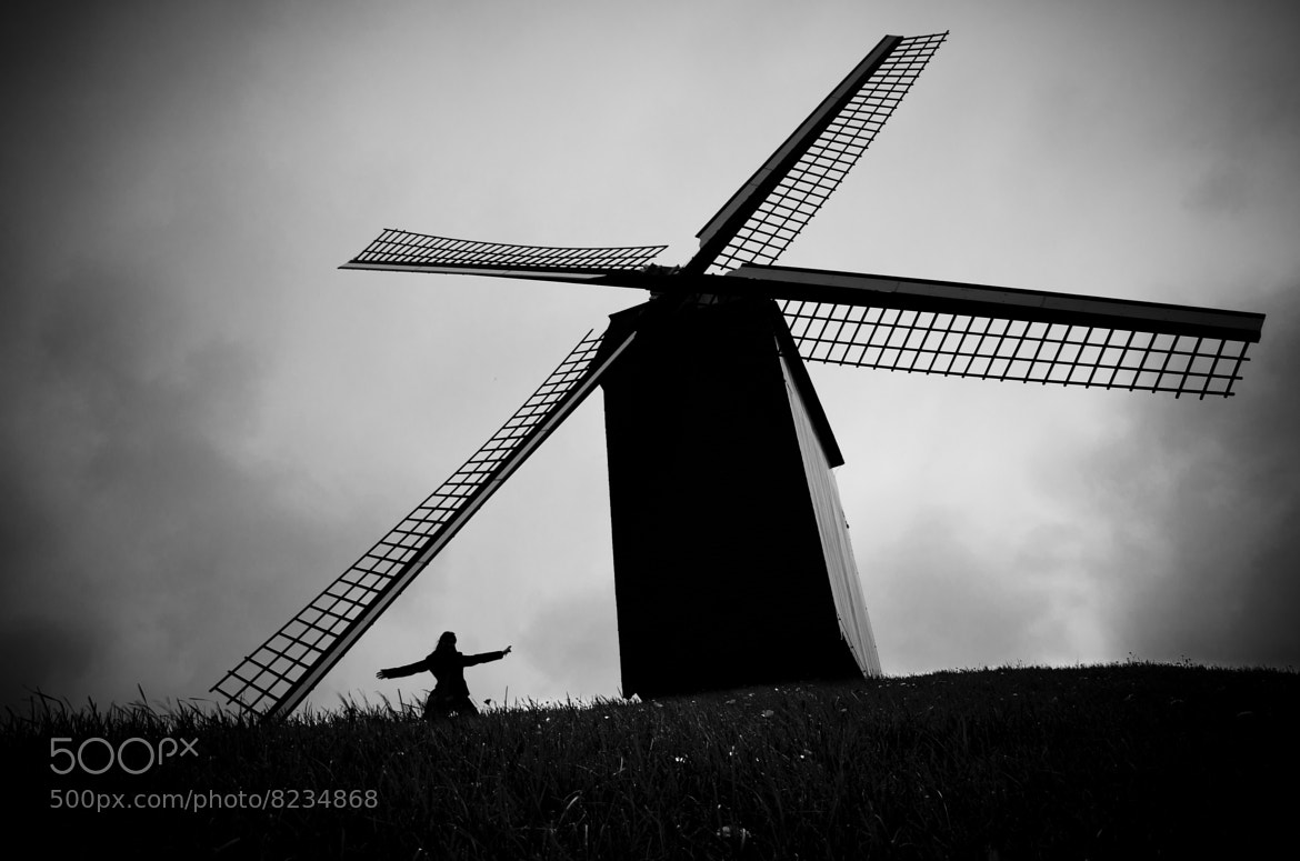 Photograph Friendly Black Mill by Jérémie Fricker on 500px