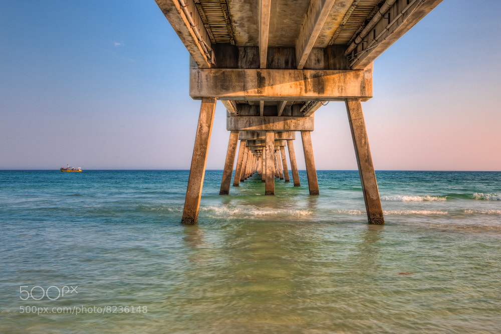 Photograph Under the Destin Pier  by Ellen Yeates on 500px
