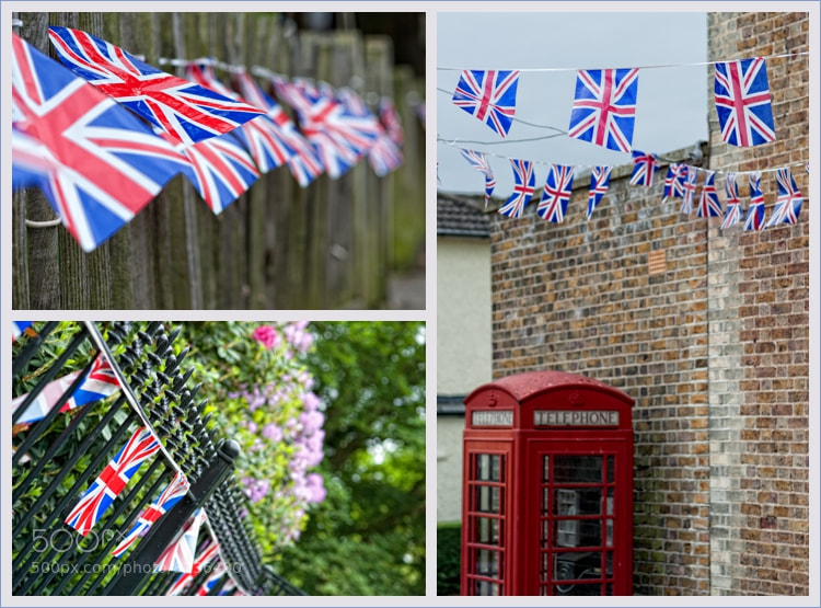 Photograph Jubilee Flags Montage by Yvonne White on 500px