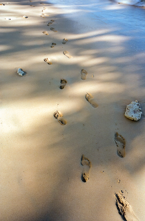 Photograph Footprints by Nigel Burley on 500px