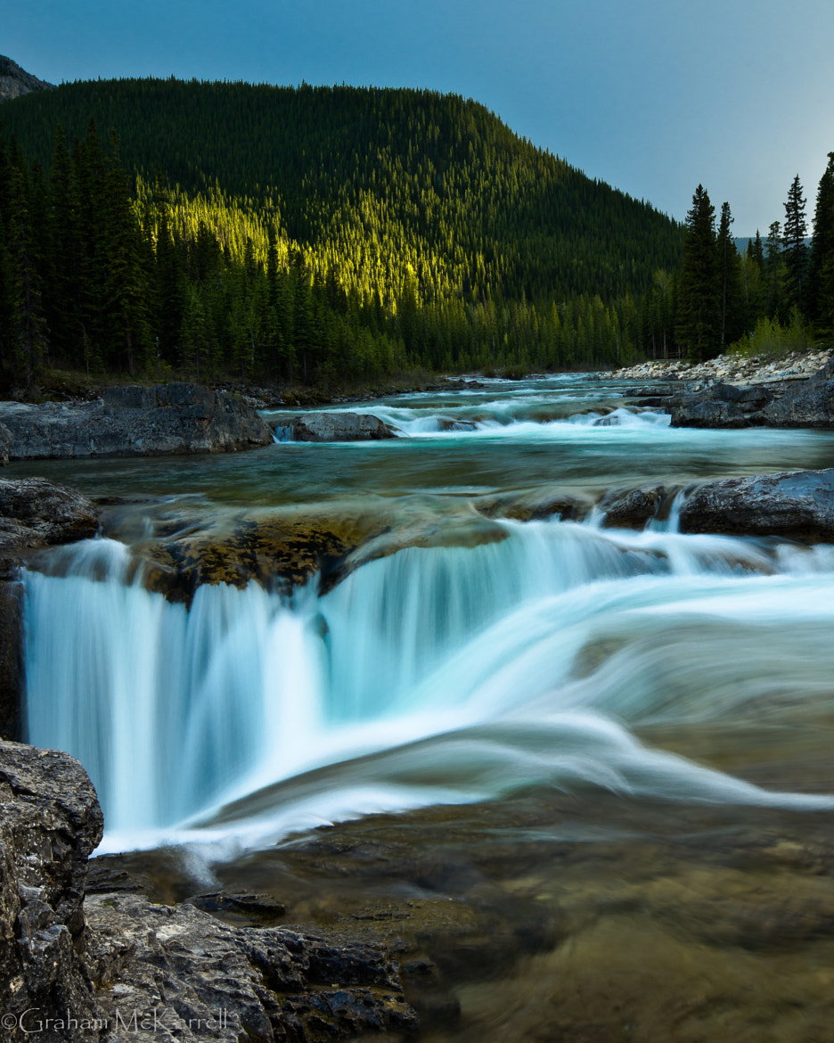 Photograph Elbow Falls by Graham McKerrell on 500px