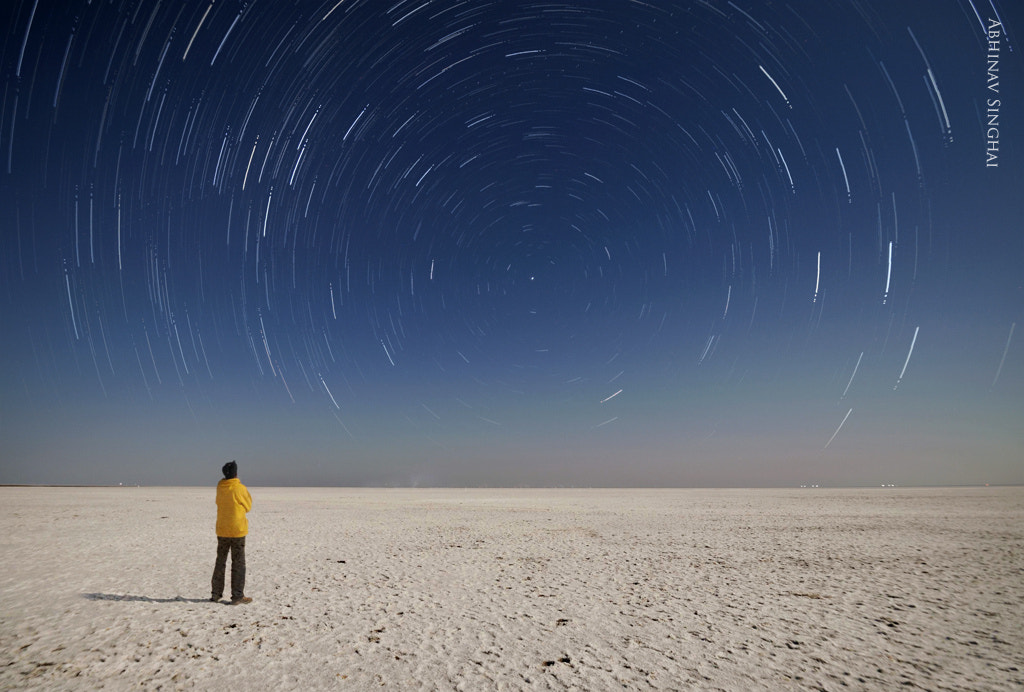Photograph Watching the Earth Rotate-White Rann of Kutch by Abhinav  Singhai on 500px
