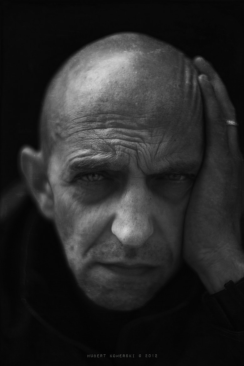 Photograph Janusz Chabior actor by Hubert Komerski on 500px
