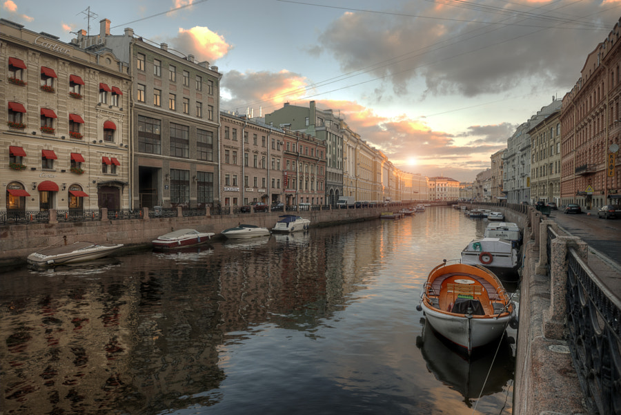 canals of St. Petersburg .. by Ed Gordeev on 500px.com