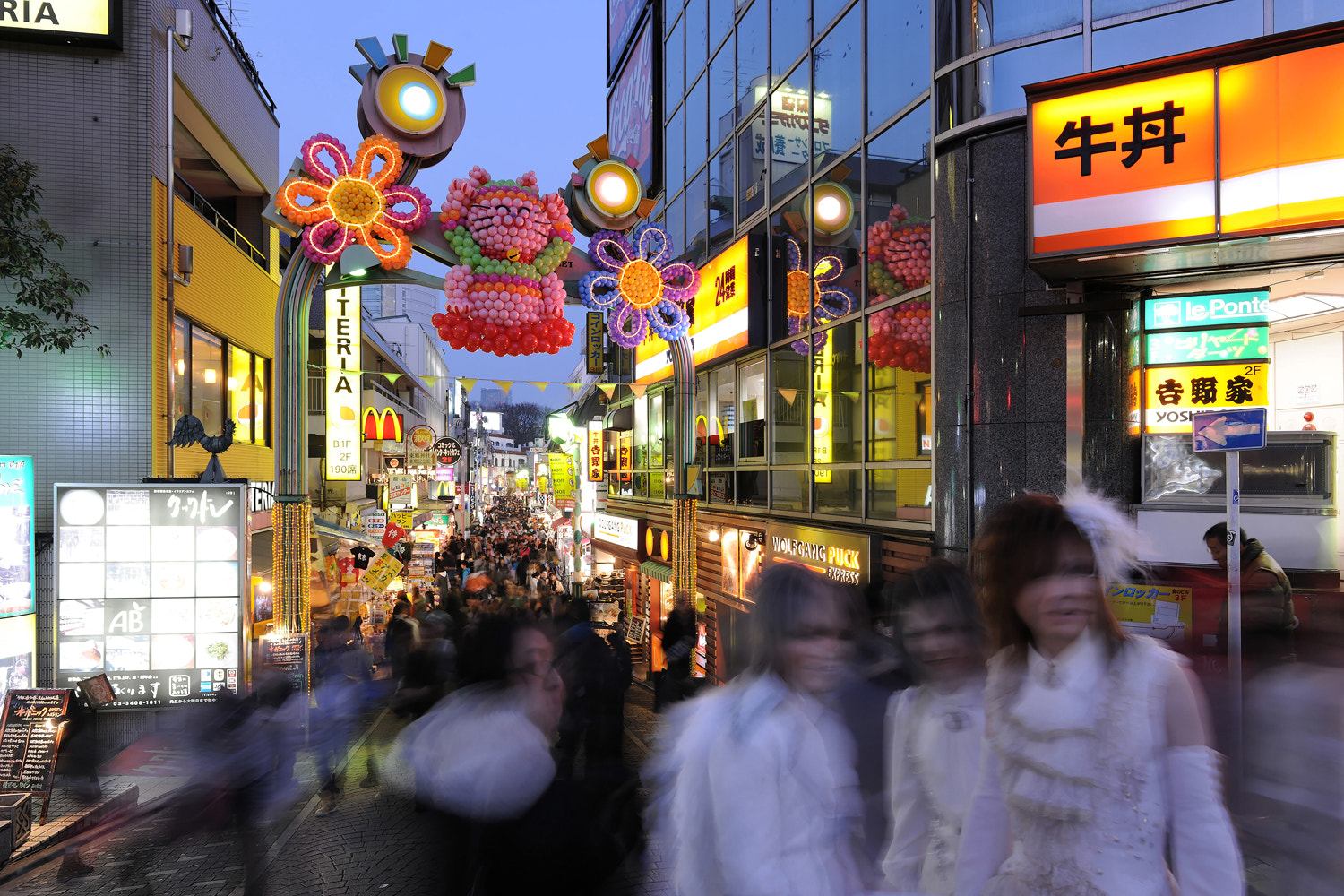 Photograph Ghosts in Harajuku by Laurent Thery on 500px
