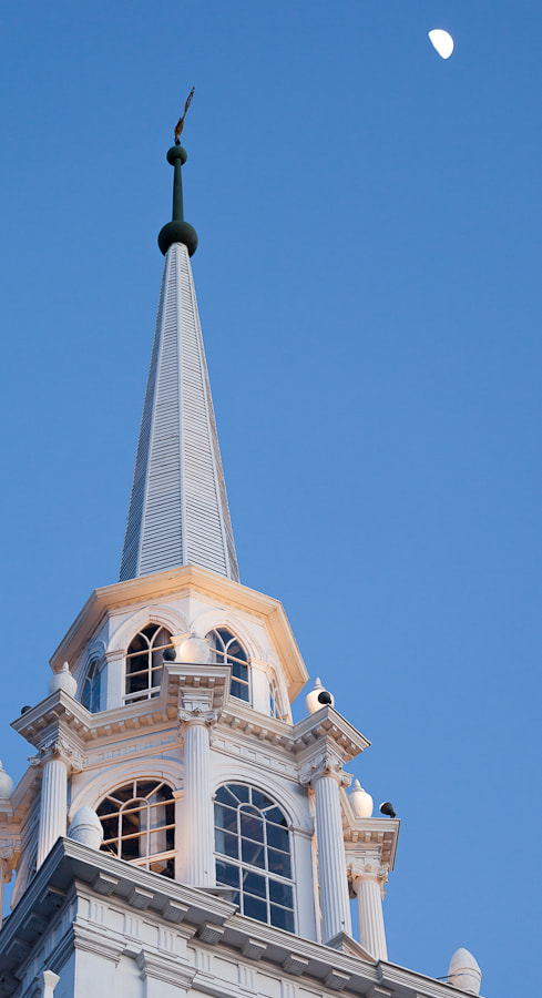 Photograph First Unitarian Steeple, Newburyport, Massachusetts. by Stanton Champion on 500px