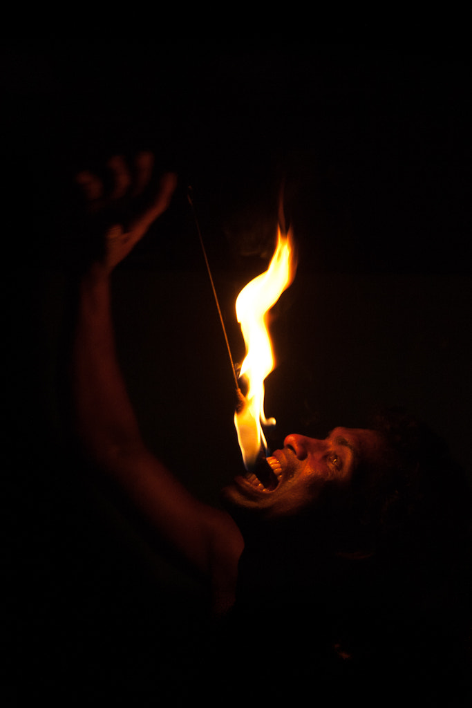 Photograph Fire Eater by Chris Ashworth on 500px