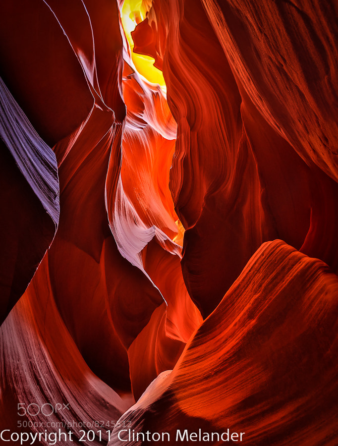 Photograph Inside the Mother-Load, Antelope Canyon by Clinton Melander on 500px