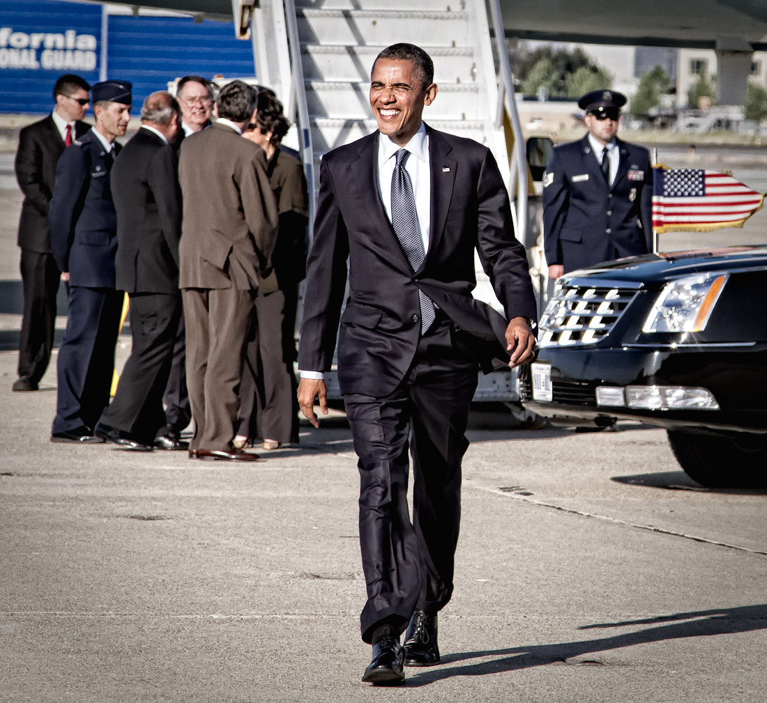 Photograph The Obama Strut  by Christopher O'Hara on 500px