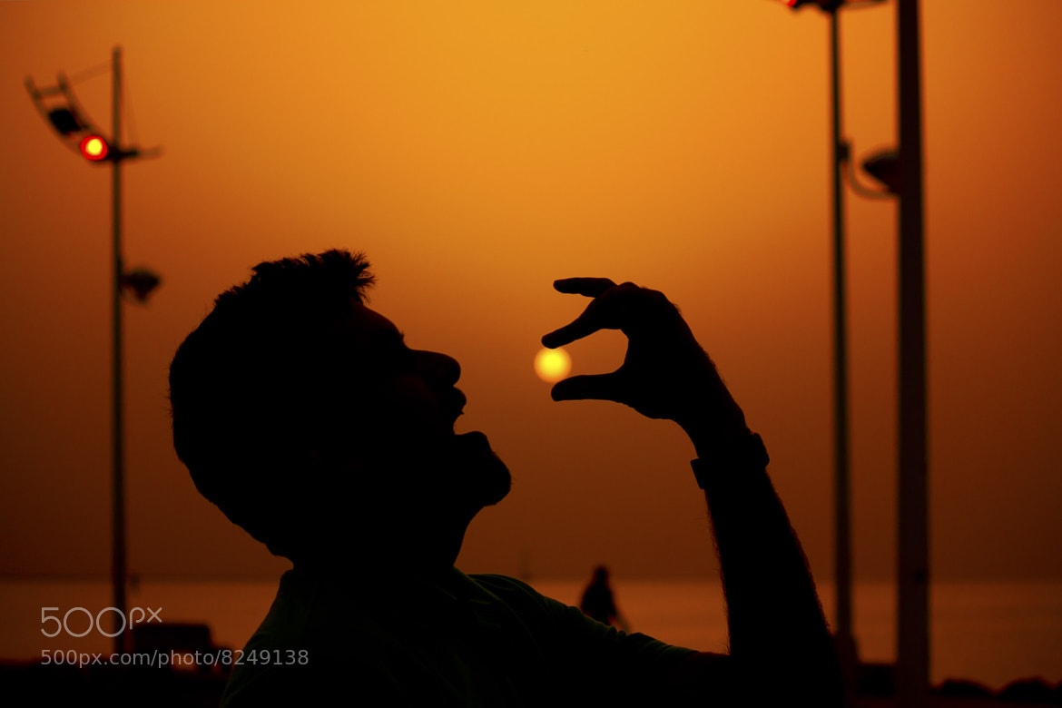 Photograph Eating The Sun by Mubarak Bahrouh on 500px