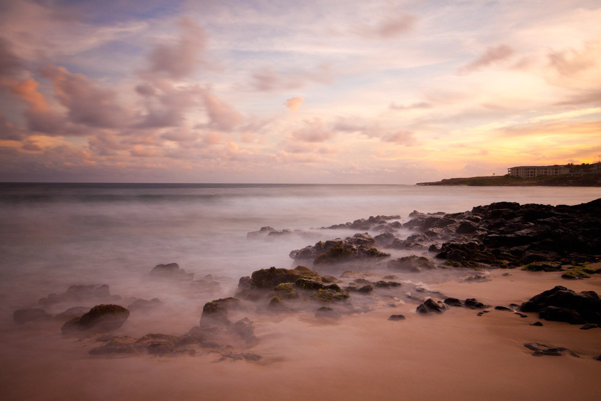 Photograph Shipwreck Beach at sunset by Cat C on 500px