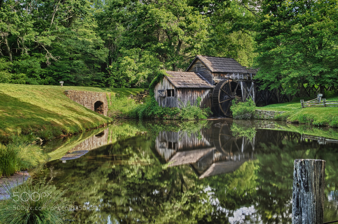Photograph Mabry Mill by Lori Coleman on 500px