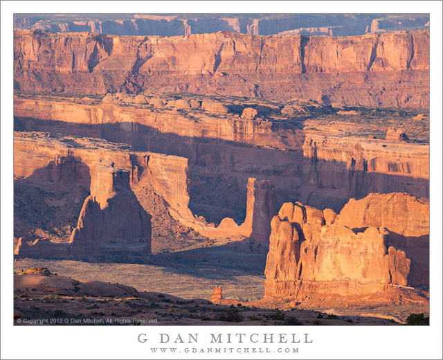 Photograph Sandstone Formations, Morning by G Dan Mitchell on 500px