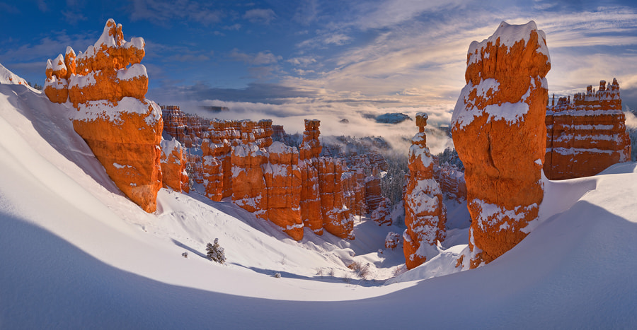 Photograph Winter Castles by Mike Reyfman on 500px