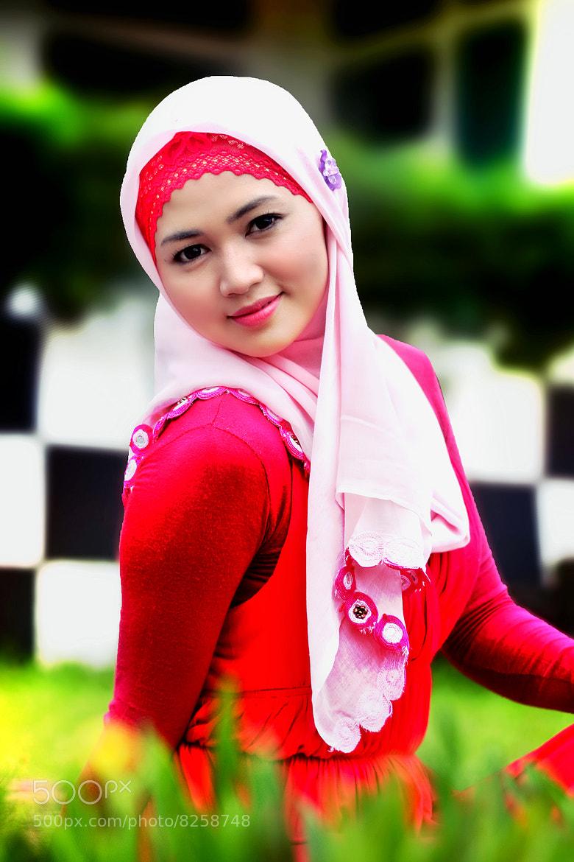 Photograph Bunda in Red by Ade Syamsudin on 500px