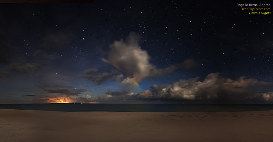 Photograph Midnight Rainbow by Rogelio Bernal Andreo on 500px