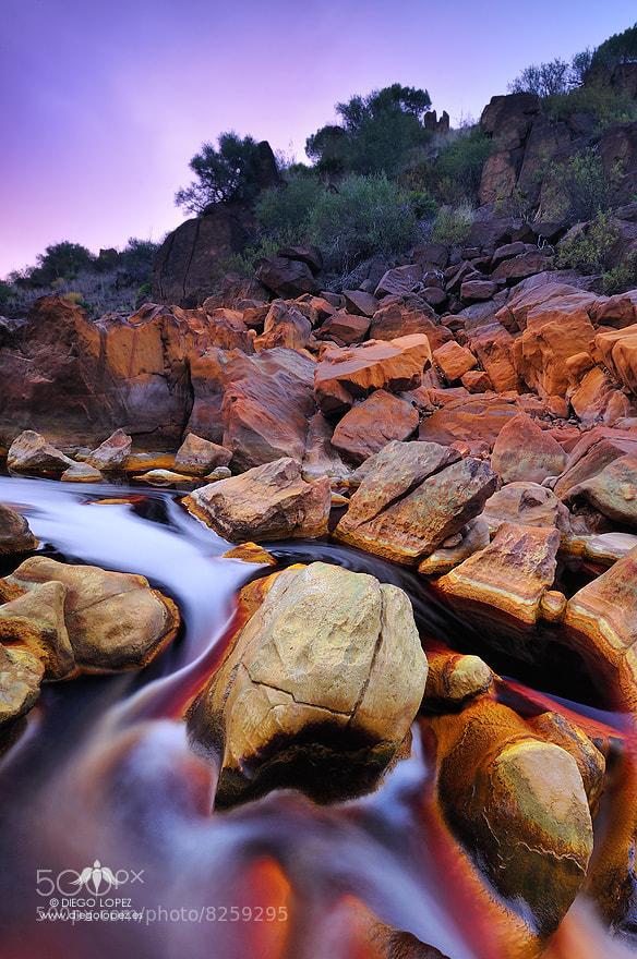 Photograph Río de fuego by Diego Lopez on 500px