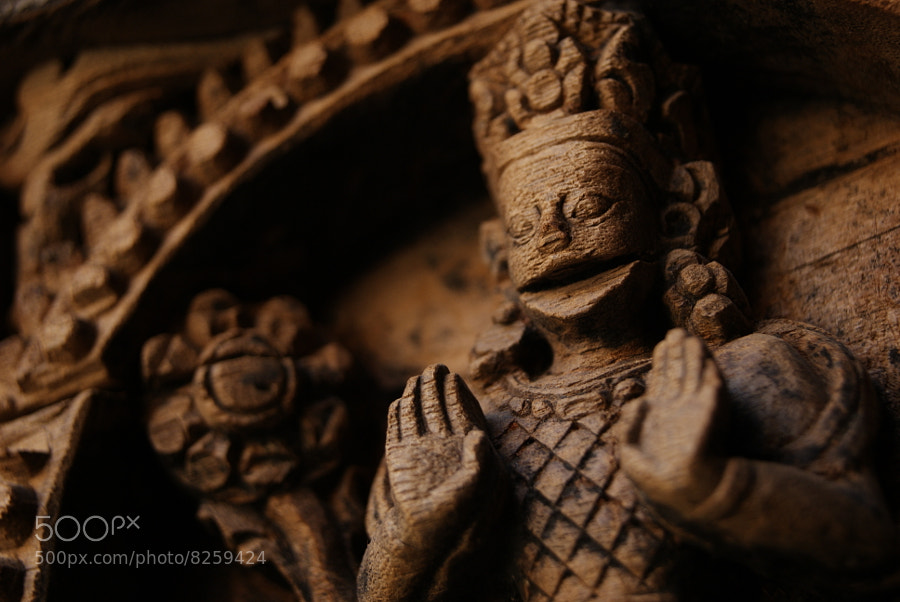 Photograph  God in wooden canvas. by Afzal Khan on 500px