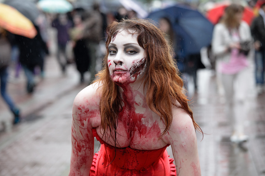 Photograph Beautiful zombie by George Malets on 500px