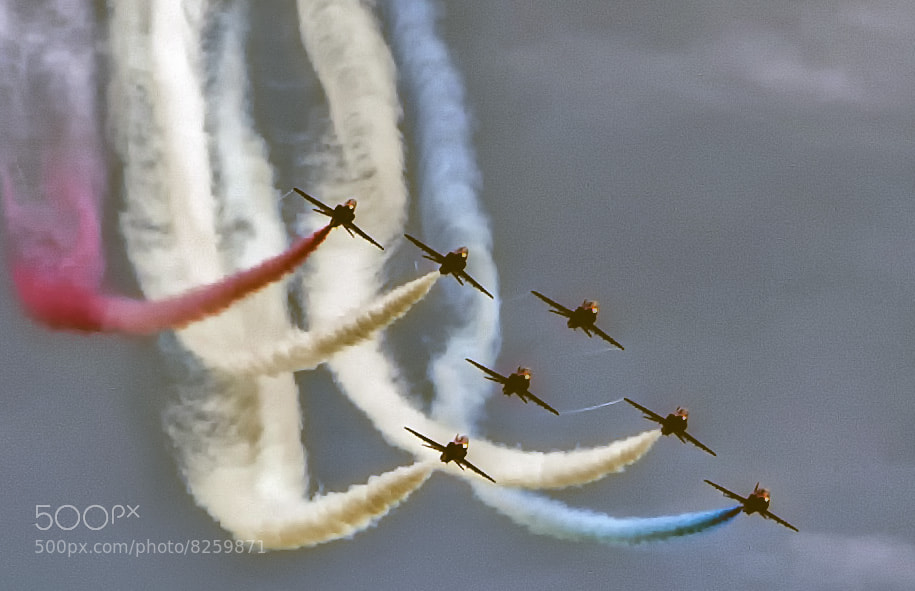 Photograph The Red Arrows by Steve Clancy on 500px