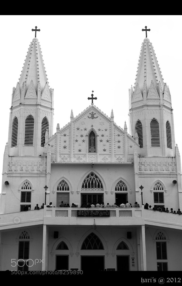 Photograph holy church | Velankanni by Hari  Prasad on 500px
