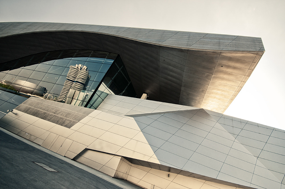Photograph BMW World by Andreas  Wecker on 500px