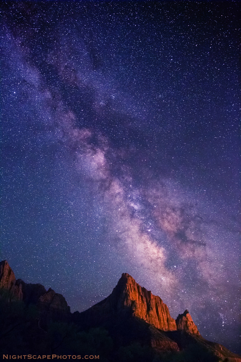 Photograph Milky Way over The Watchman by Royce's NightScapes on 500px