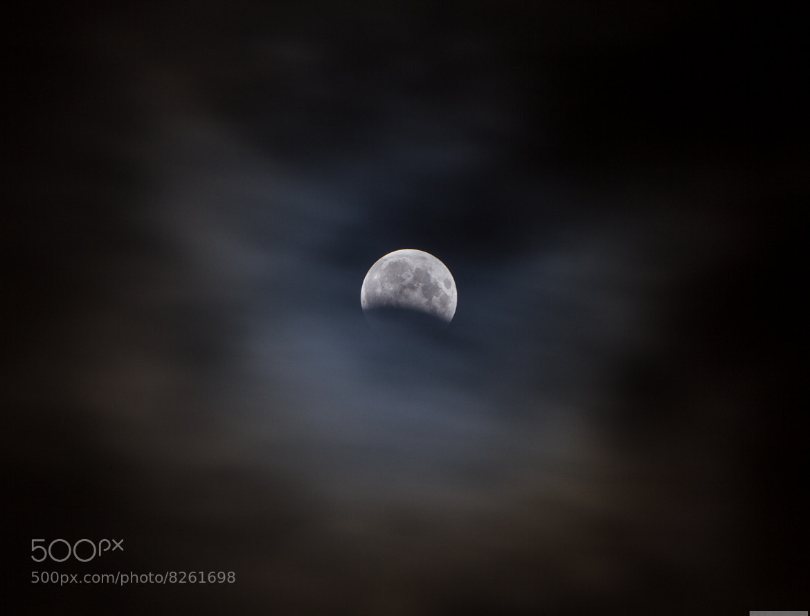 Photograph Partial Lunar Eclipse by Robert Nakama on 500px