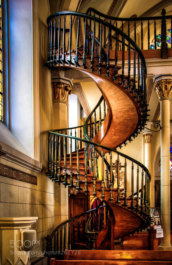 Photograph The Miraculous Staircase by Len Saltiel on 500px