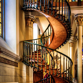 The Miraculous Staircase by Len Saltiel (ljsaltiel)) on 500px.com